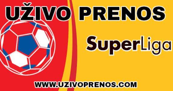 SuperLiga Srbije UZIVO PRENOS