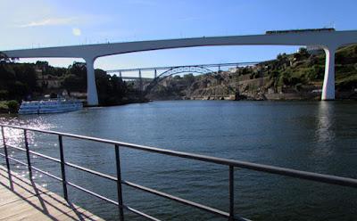 rio Douro e pontes