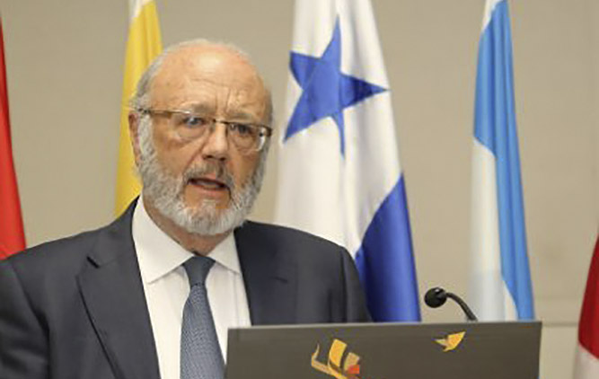 Andrés Guerrero, presidente de la Asociación de Juristas de Iberoamérica / ASJURIB