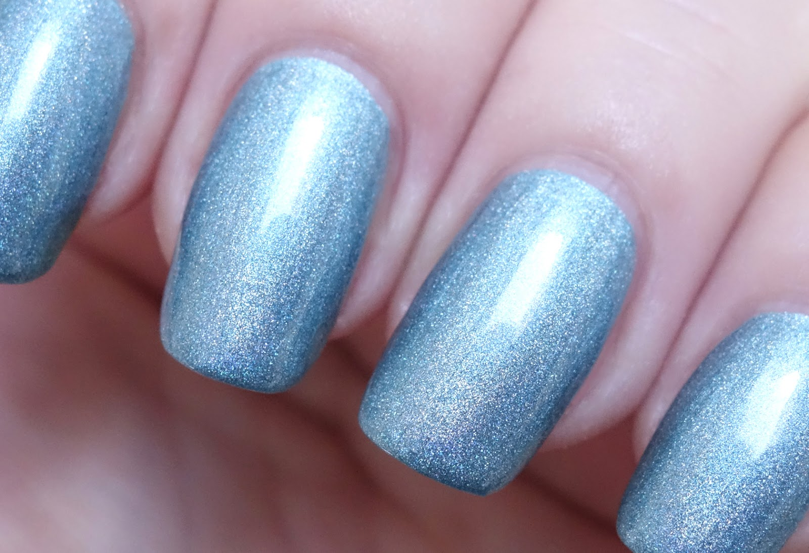 Lacquer Slacker Liz: A-England Symphony in Blue and Silver