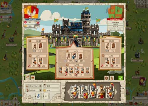 لعبة الحرب والقتال الامبراطورية Empire للكمبيوتر والموبايل مجانا