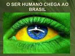 O Ser humano chega ao Brasil