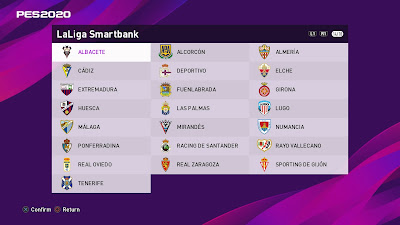 eFootball PES 2020 PS4 PESUniverse Option File
