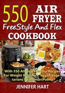 550 Air Fryer FreeStyle And Flex Cookbook