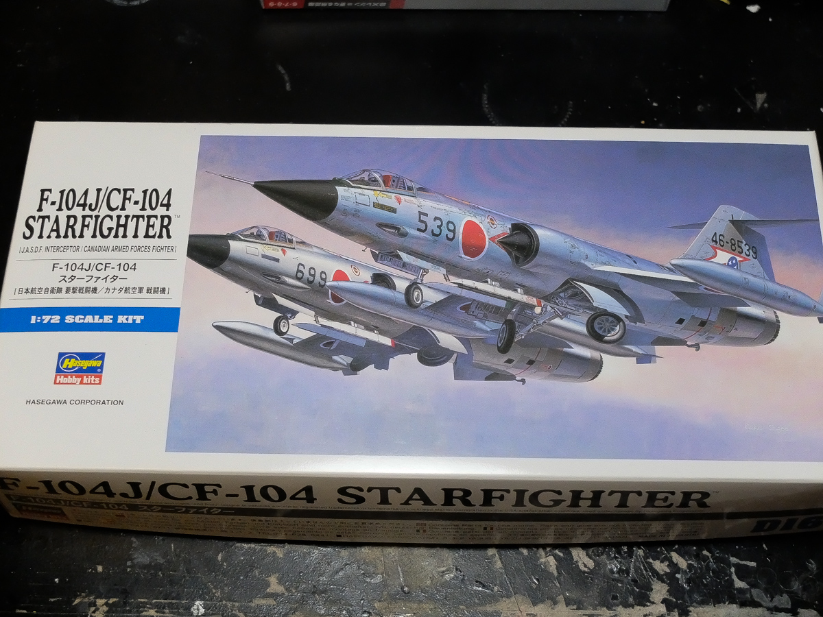 CF-104 CANADIAN ARMED FORCES FIGHTER 1//72 F-104 J STARFIGHTER JASDF