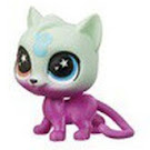Littlest Pet Shop Series 5 Lucky Pets Glow-in-the-Dark Eyes Catnip (#No#) Pet