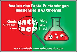 Analisa dan Fakta Menjelang Pertandingan Huddersfield vs Chelsea Fantasi Manager Indonesia