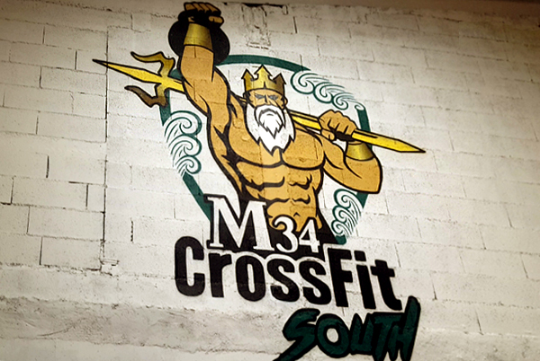 Montpellier Throwdown au M34 Crossfit South