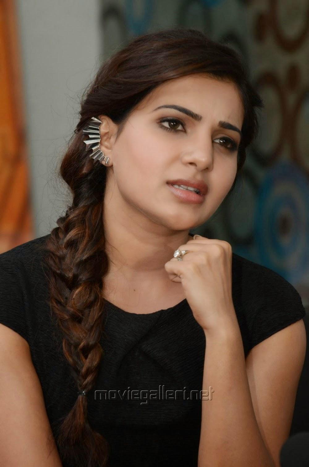 Samantha In Saree: Samantha Ruth Prabhu Interview About Alludu Seenu Success