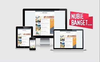 Download Template Nubie Banget Gratis