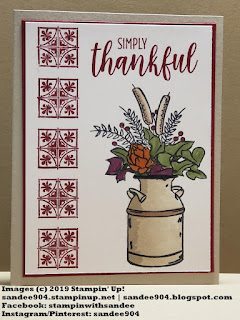 Handmade Card Using Country Home Stamp Set #simplestamping