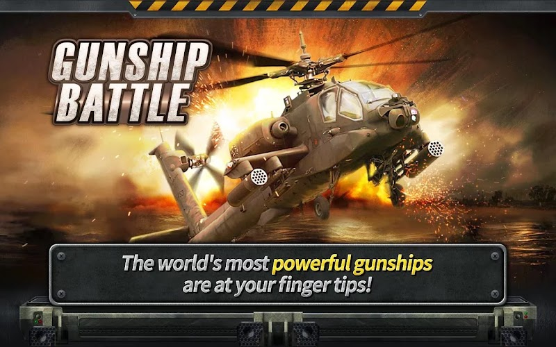 GUNSHIP BATTLE : Helicopter 3D Android [Mod] Apk Free Download