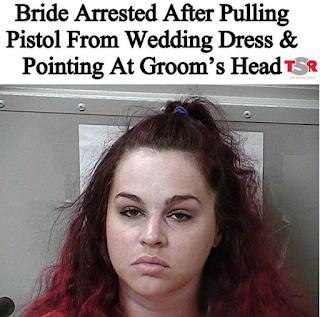 Kate Elizabeth Prichard Gun Toting Bride