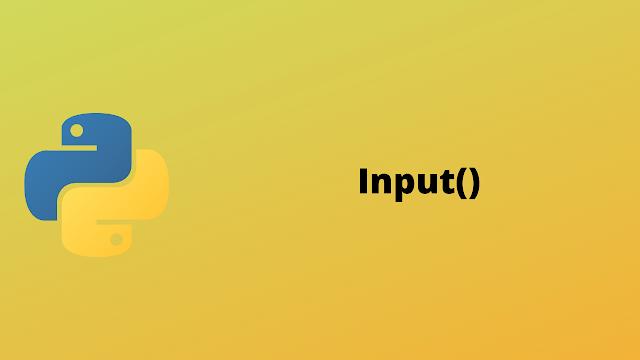 HackerRank Input() solution in python