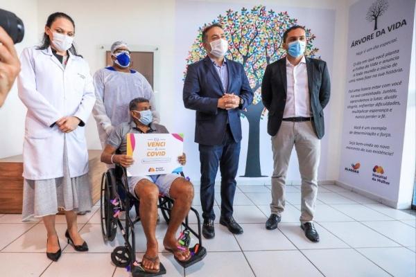 Rede Hospitalar Pública de Alagoas salva 10 mil vidas de pacientes com Covid-19