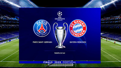 PES 2020 UEFA Champions League Final 2020 | PSG vs Bayern München