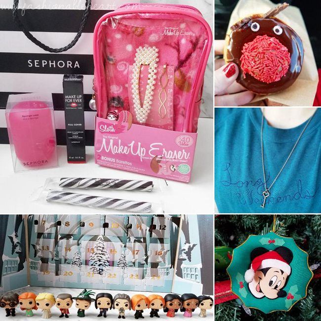 bblogger, bbloggers, bbloggerca, bbloggersca, canadian beauty blogger, southern blogger, lifestyle blog, instamonth, instagram roundup, sephora haul, makeup eraser, reindeer donut, tim hortons, harry potter, funko pops, advent calendar, mickey mouse ornament, disney