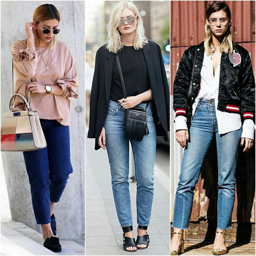 Looks de meia estação com calça jeans
