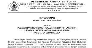 Dinas Perumahan dan Kawasan Permukiman Kabupaten Blitar