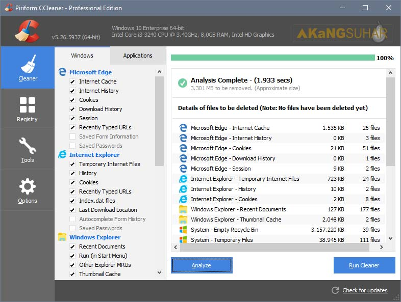 Download CCleaner 5.26.5937 All Edition Full Version