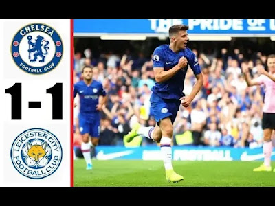 Chelsea vs Leicester City 1-1 All Goals And Match Highlights [MP4 & HD VIDEO]