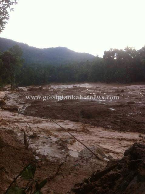 Massive Landside Reported in Aranayaka