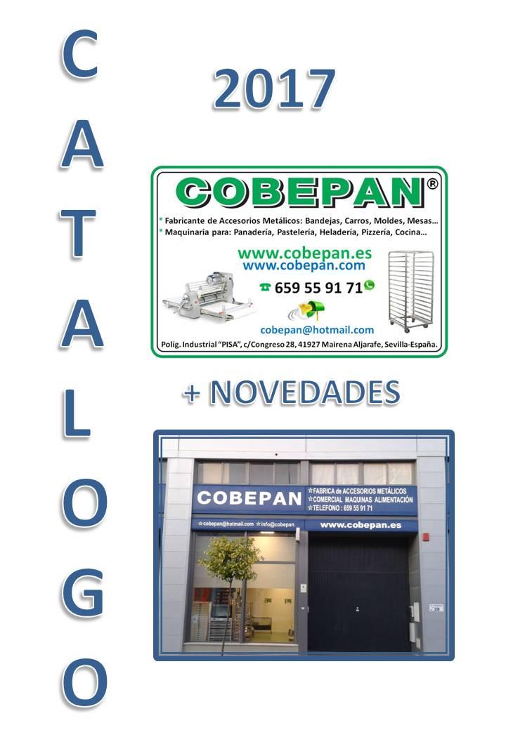 Cobepan es maquinaria y accesorios para panaderia y for Catalogo bp 2017