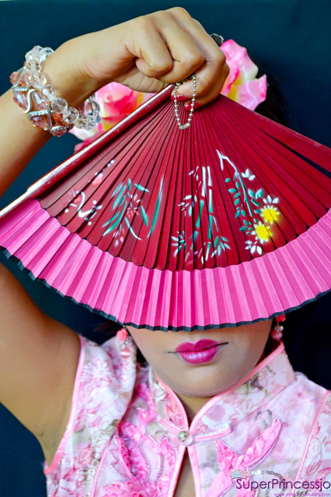 Superprincessjo China Doll Chinese Girl Makeup Look