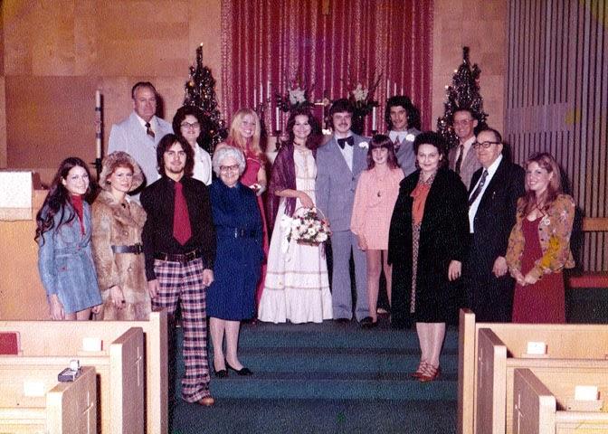 Bob and Kathy Flora at Wedding of Doug and Diane Hay
