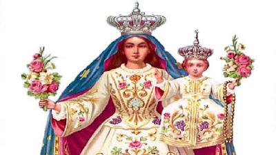 imagem de Nossa Senhora da Glória