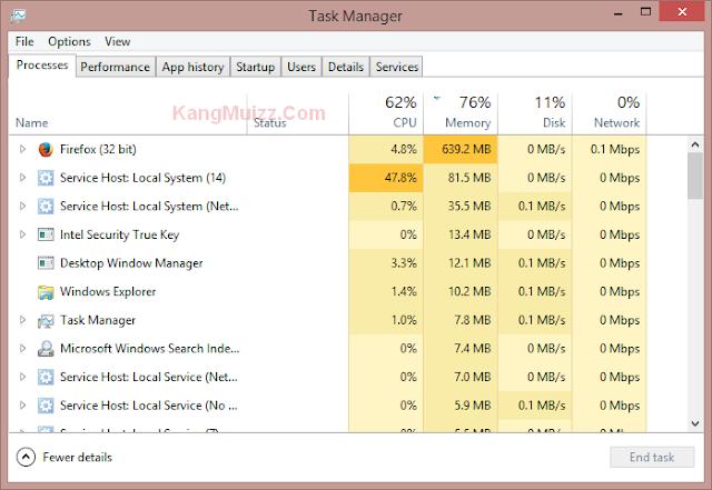 6 Cara Membuka Task Manager di Semua Versi Windows