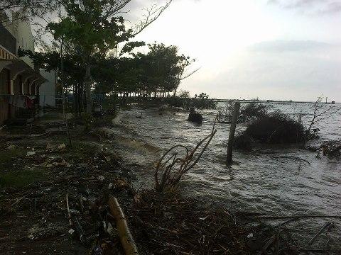 Abrasi Pantai Sigandu Kab Batang