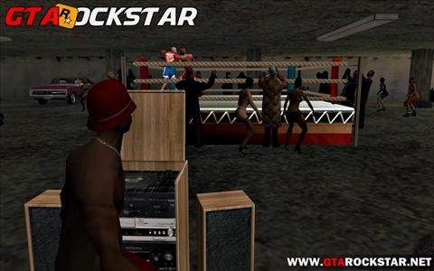 Mod Torneio de Box em Los Santos para GTA San Andreas