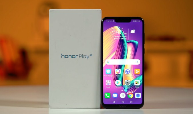 Smartphone Gaming - Honor Play