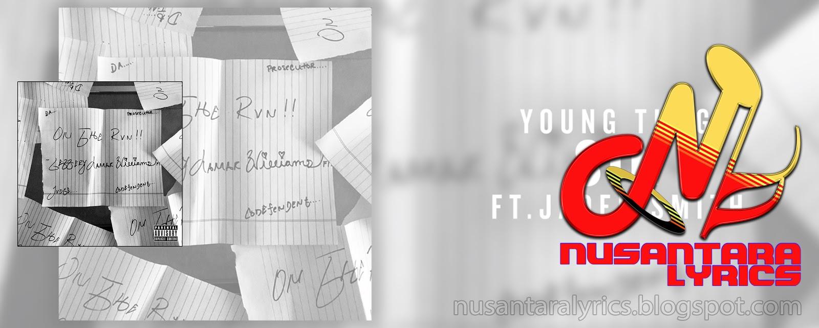 5480f377ef Young Thug feat Jaden Smith - Sin - Nusantara Lyrics