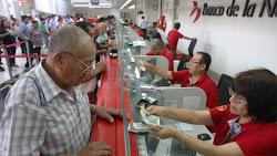 Banco de la Nación amplía su horario de atención para cobro de bono ONP