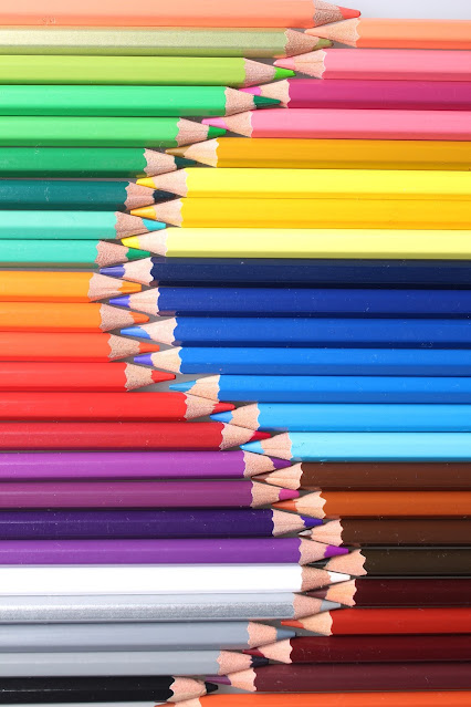 Colored Pencils Drawing Art Hobby