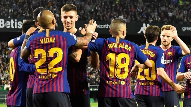 الدوري الإسباني: برشلونة يمضي بثبات نحو اللقب بثلاثية خرافية لليونيل ميسي التفاصيل من هناا