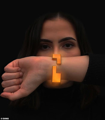 Student designs a rape alarm bracelet that can alert friends and nightclub staff with a simple tap