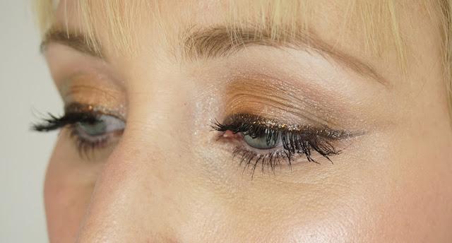 Nachgeschminkt - Januar 2016 (Golden Glitter)