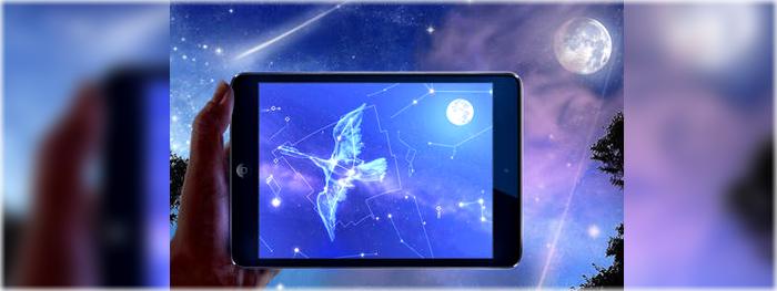 carta celeste aplicativo para ver o céu