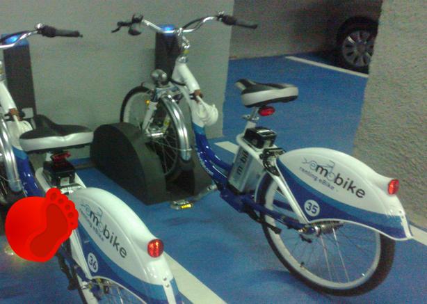 biciclete puse la dispozitie de hotel