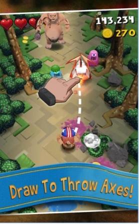 Game Petualangan Terbaik Android Max Axe MOD APK