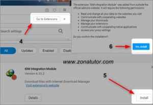 Cara MengaktifkanTombol Download Idm Di Opera Mini
