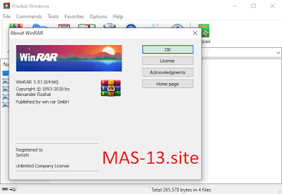 Download WinRAR Versi 5.91 Final Terbaru Full Version Crack Patch 32 64 Bit Gratis