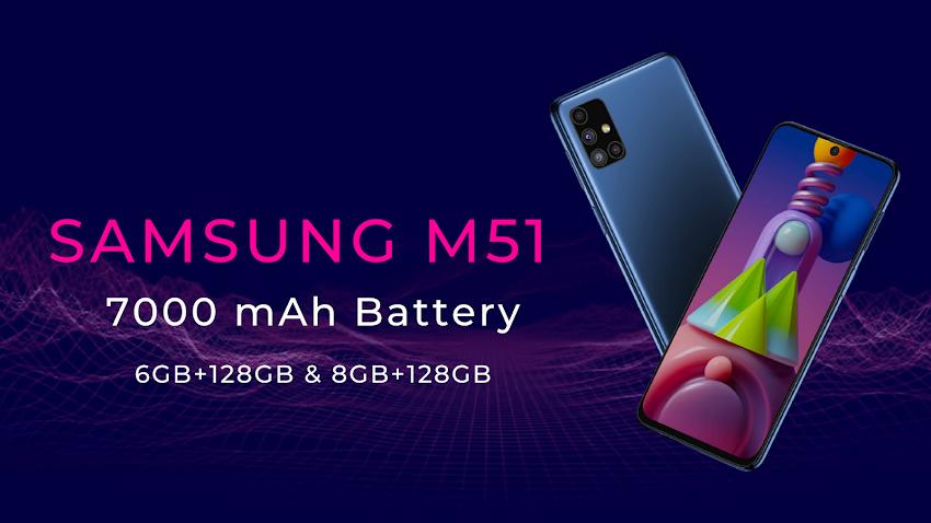 Samsung Galaxy M 51 | Best Deal | Festival Offer