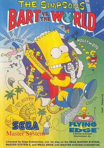 The Simpsons - Bart VS The World