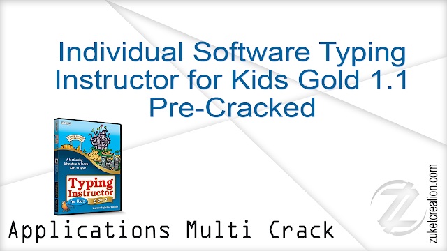 Individual Software Typing Instructor for Kids Gold 1.1 Pre-Cracked    |  412 MB