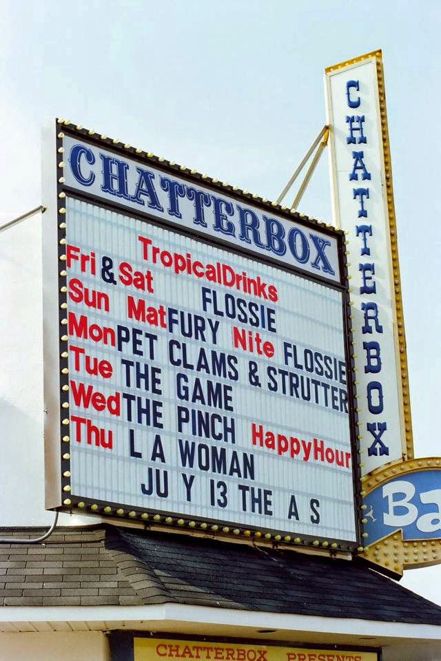The Chatterbox night club in Seaside Heights, New Jersey