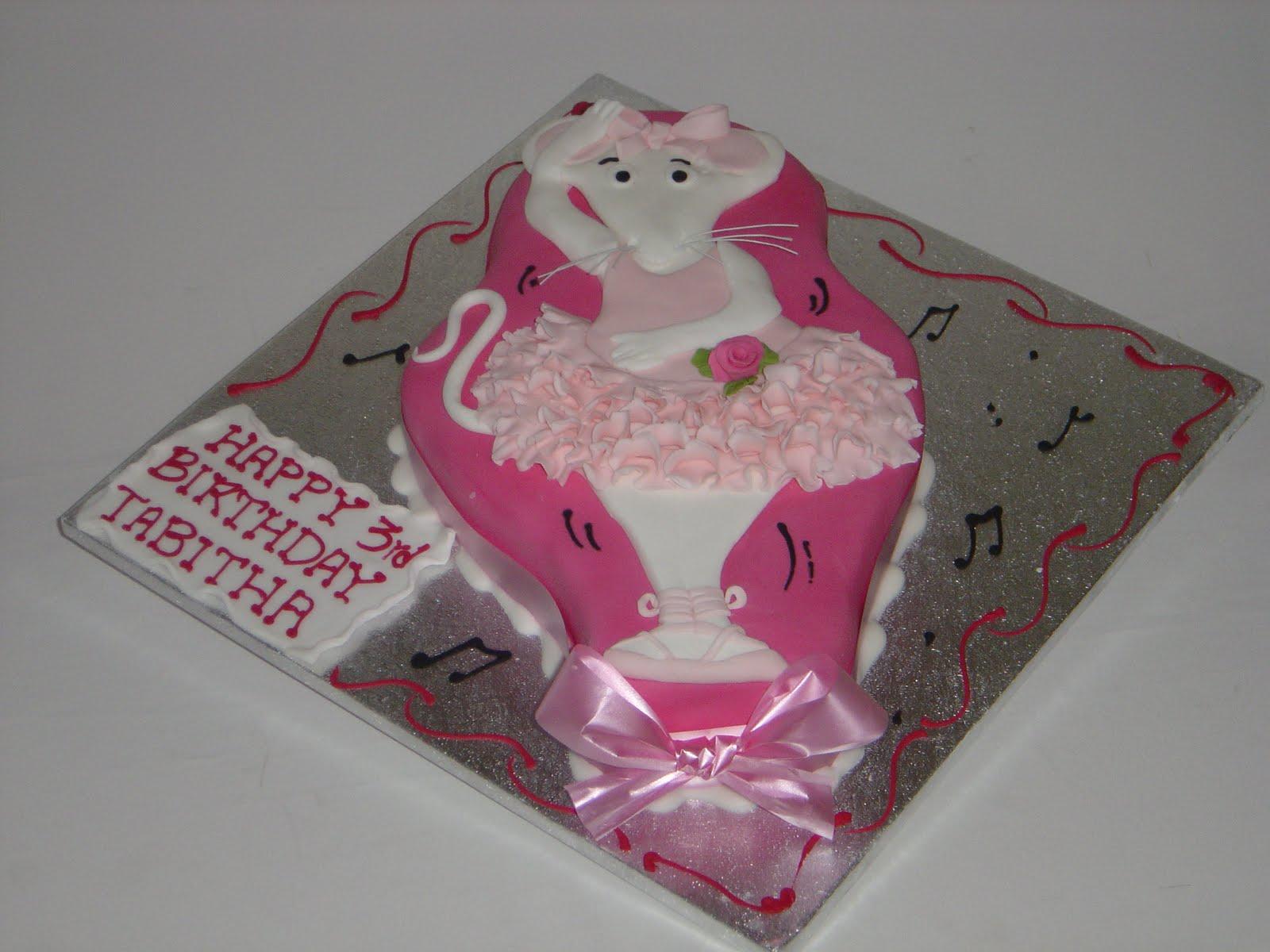 Birthday Cake Angelina Ballerina Cake